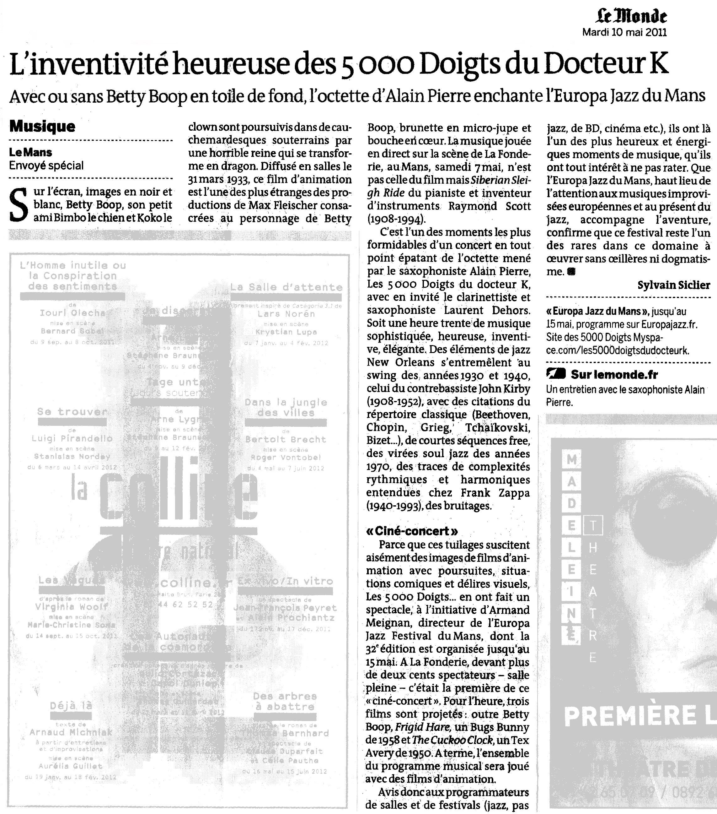 Article de presse - JPG - 1.5 Mo (Nouvelle fenêtre)